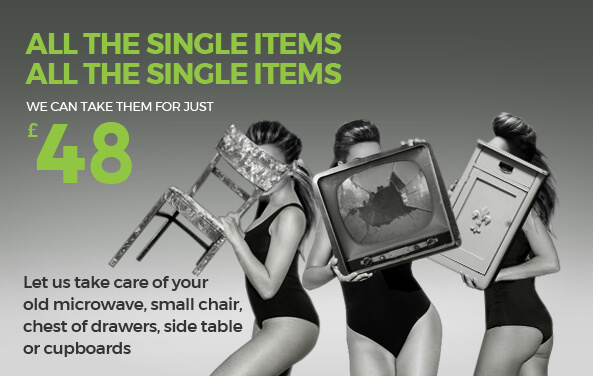 Say Goodbye to Rubbish for just £48 per Item