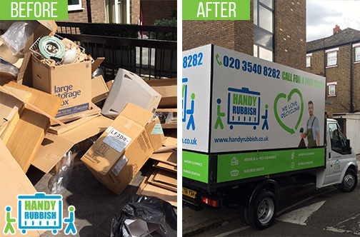 Rubbish Clearance Services in Bow