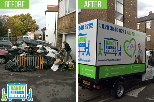 Rubbish Clearance Service in Harlesden