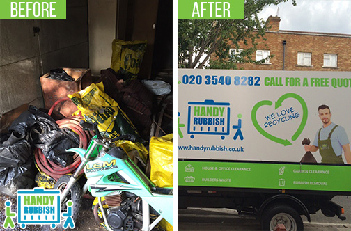 Affordable Rubbish Removal Service in Tyburn