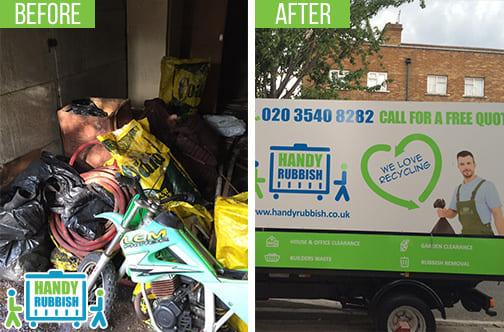 Rubbish Disposal Service in Waddon CR0