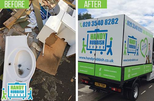 Rubbish Removal Service in Buckland End B34